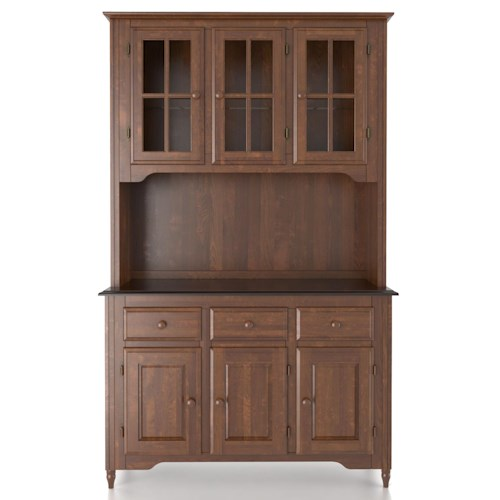 Canadel Custom Dining Customizable 48 Inch Buffet & Hutch