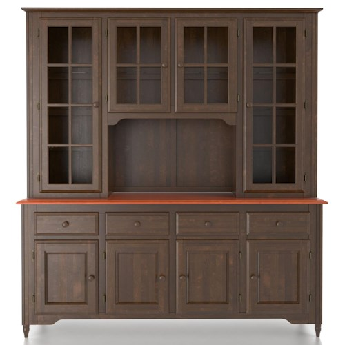 Canadel Custom Dining Customizable 72 Inch Buffet & Hutch