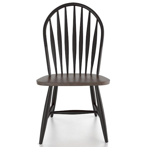 Canadel Custom Dining Customizable Arrow Back Side Chair