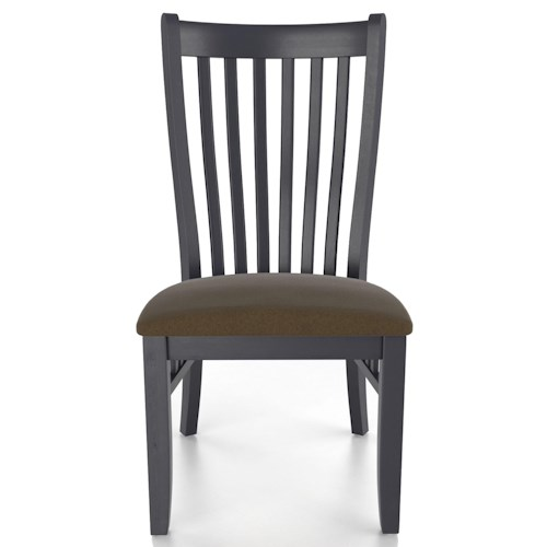 Canadel Custom Dining Customizable Mission Upholstered Side Chair