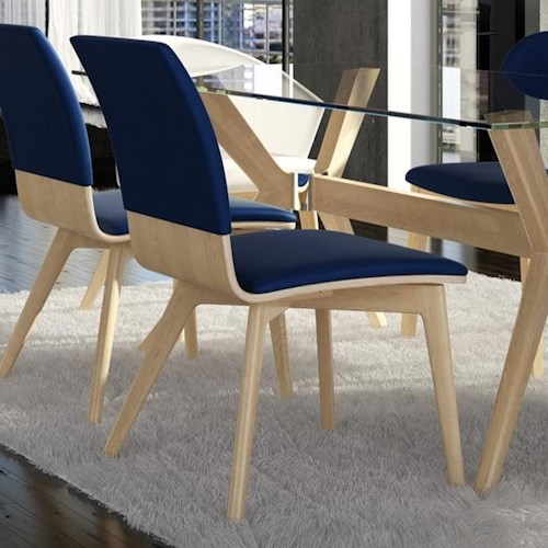 Canadel Downtown - Custom Dining Contemporary Customizable Dining Side Chair