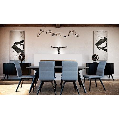 Canadel Downtown - Custom Dining Casual Dining Room Group