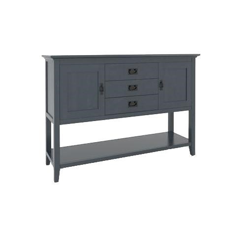 Canadel Gourmet Customizable Sideboard with Shelf