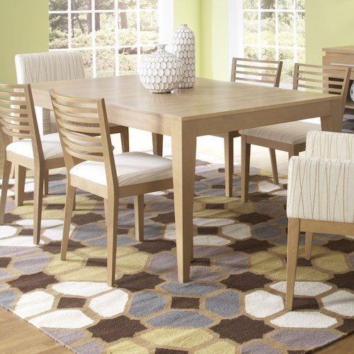 Canadel High Style - Custom Dining Customizable Rectangular Table