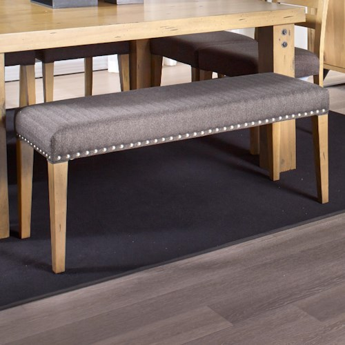 Canadel Loft - Custom Dining Customizable Upholstered Dining Bench