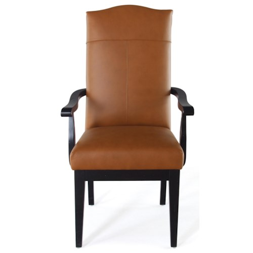 Canadel Loft - Custom Dining Customizable Upholstered Arm Chair