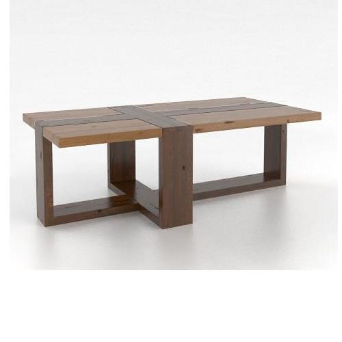 Canadel Loft - Living Customizable Rectangular Coffee Table