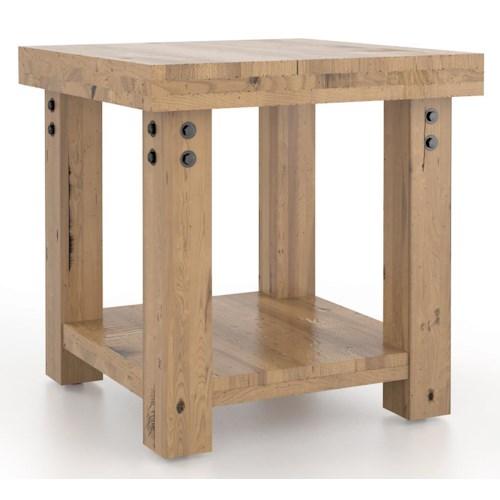 Canadel Loft - Living Customizable Square End Table