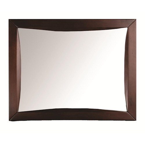 Morris Home Furnishings Canton Canton Landscape Mirror