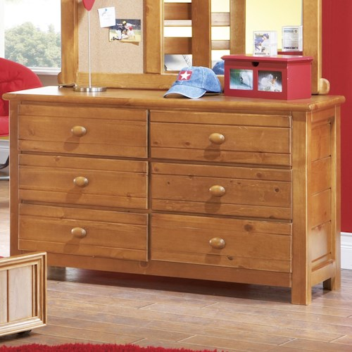 Morris Home Furnishings Cisco Dresser w/ 6 Drawers
