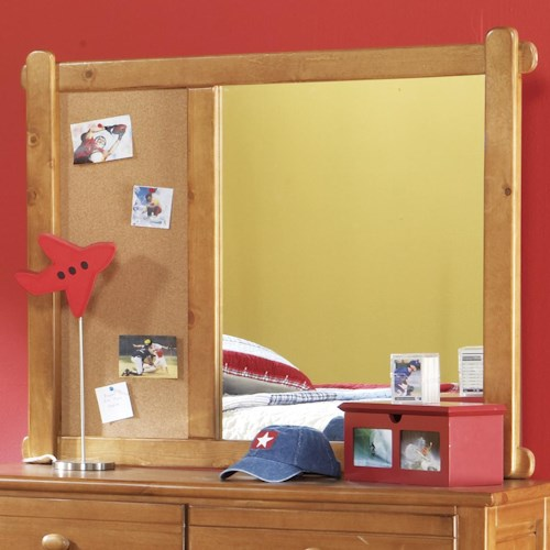 Morris Home Furnishings Cisco Landscape Dresser Mirror