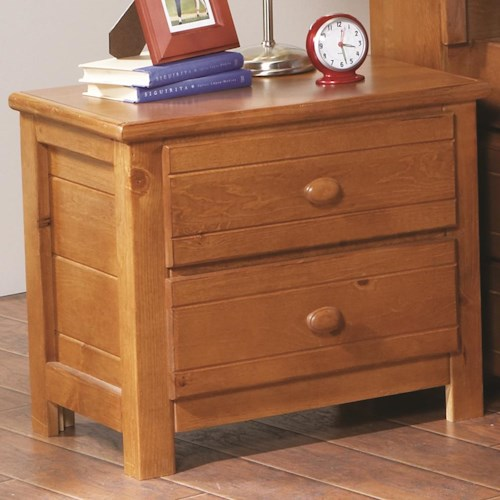 Morris Home Furnishings Cisco 2 Drawer Night Stand