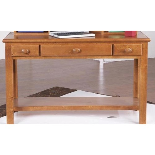 Morris Home Furnishings Cisco 3-drawer Computer Desk