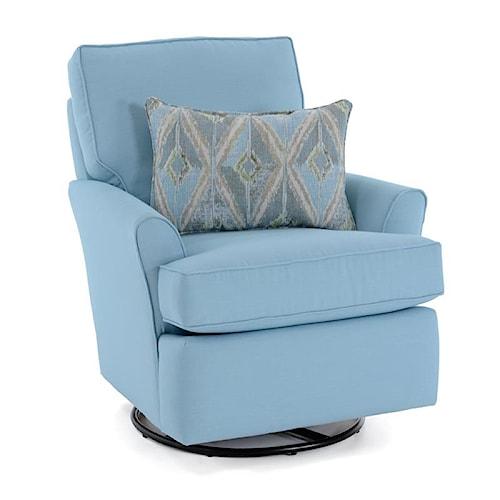 Capris Furniture 223SG Contemporary Swivel Glider Chair