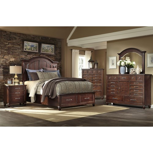 Easton Collection Blue Ridge King Bedroom Group 1