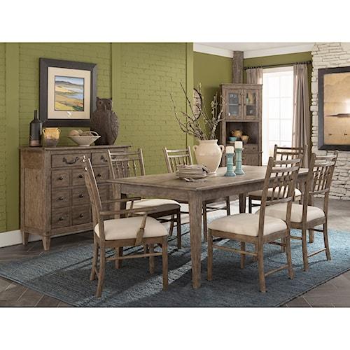 Carolina preserves by klaussner riverbank dining room group wayside furniture formal dining - Carolina dining room ...