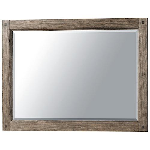 Morris Home Furnishings River Falls Beveled Glass Mirror