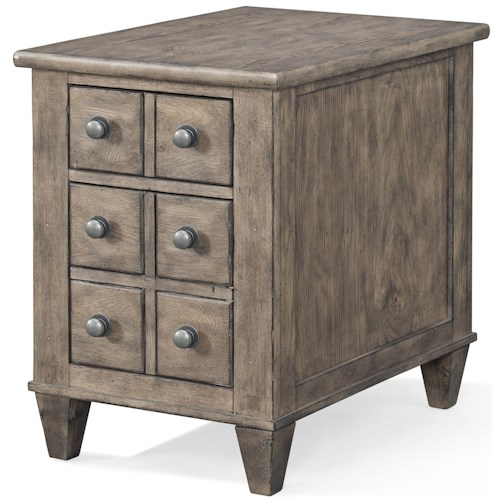 Carolina Preserves by Klaussner Riverbank 'Whitewater Rapid' 2 Drawer Chairside Chest