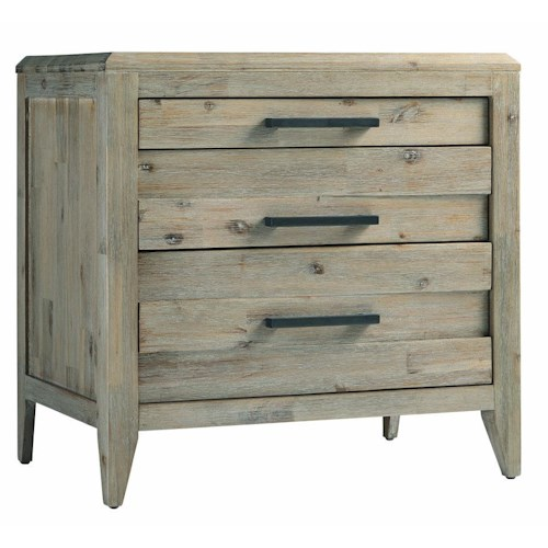 Morris Home Furnishings Westwood 2-Drawer Nightstand with Pull Out Table Surface