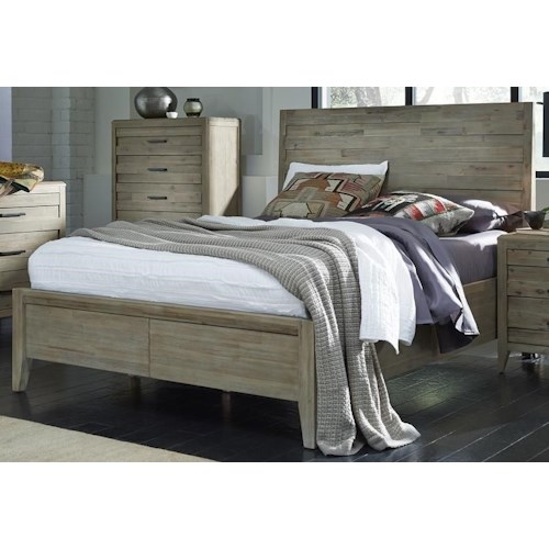 Morris Home Furnishings Westwood King Panel Bed