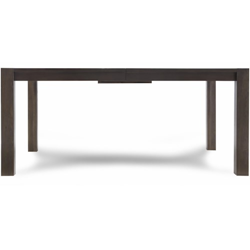 Casana Montreal Rectangular Dining Table with Block Feet