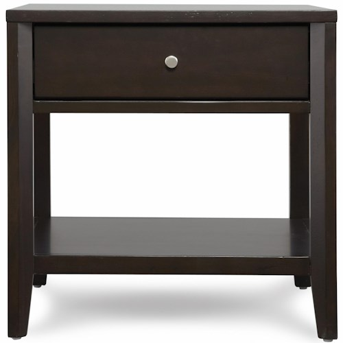 Belfort Select East Gate End Table with Drawer and Shelf