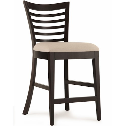 Belfort Select East Gate Open Slat Back Cafe Chair