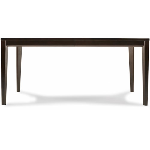 Belfort Select East Gate Rectangular Dining Table with Removable Table Leaf