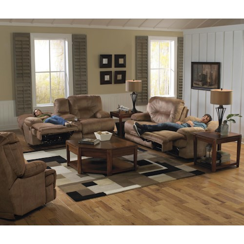 Catnapper Noble Power Reclining Living Room Group