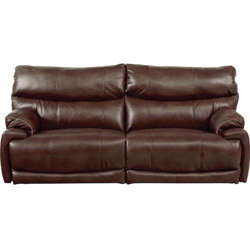Catnapper Larkin Power Lay-Flat Reclining Sofa