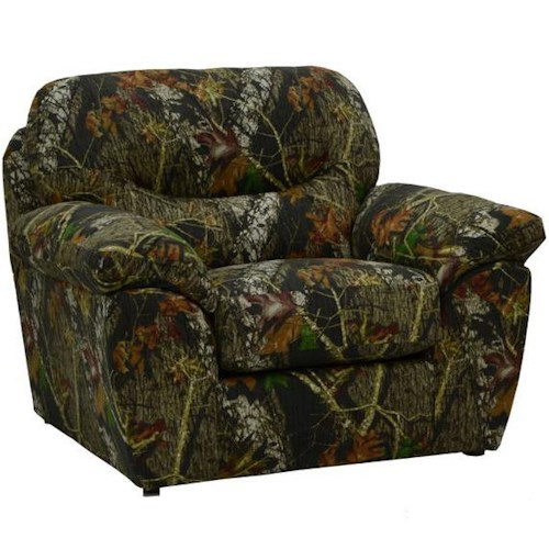 Catnapper Cumberland Casual Chair with Pillow Top Arms