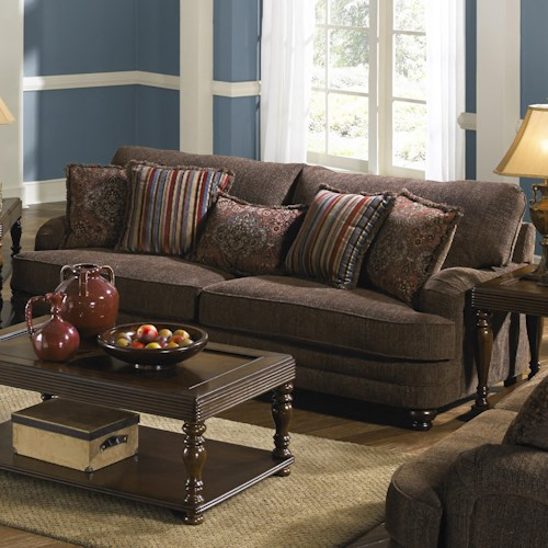 Jackson Furniture Brennan Sofa for Formal Living Rooms