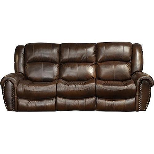 Catnapper 466-Jordan Transitional Lay Flat Reclining Sofa