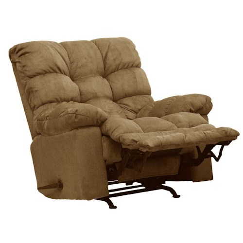 Catnapper Magnum 54689 Rocker Recliner with Sensate Heat/ Massage and Magazine Pocket