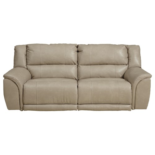 Catnapper Carmine Power Lay Flat Reclining Sofa