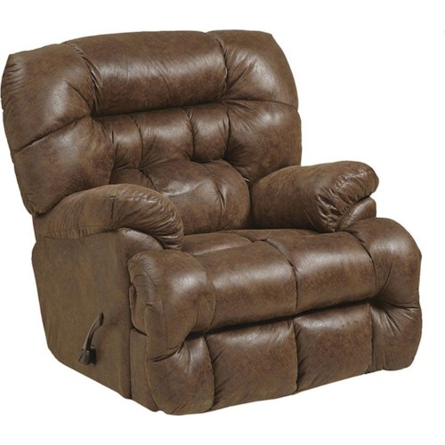 Catnapper Colson Contemporary Rocker Recliner with Heat/Massage