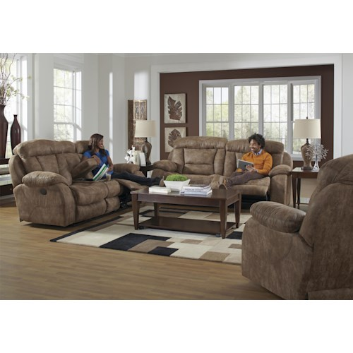 Catnapper Desmond Reclining Living Room Group