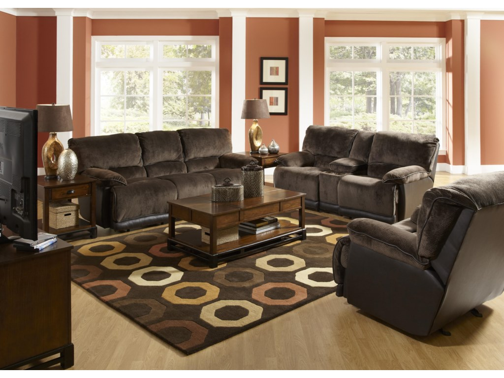 Shown with Coordinating Collection Sofa and Loveseat. Recliner Shown May Not Represent Exact Features Indicated.