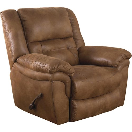 Catnapper Joyner Contemporary Lay Flat Power Recliner