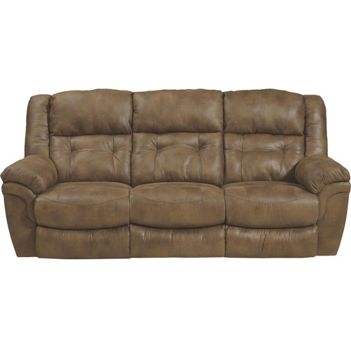 Catnapper Joyner Power Reclining Sofa With Drop Down Table