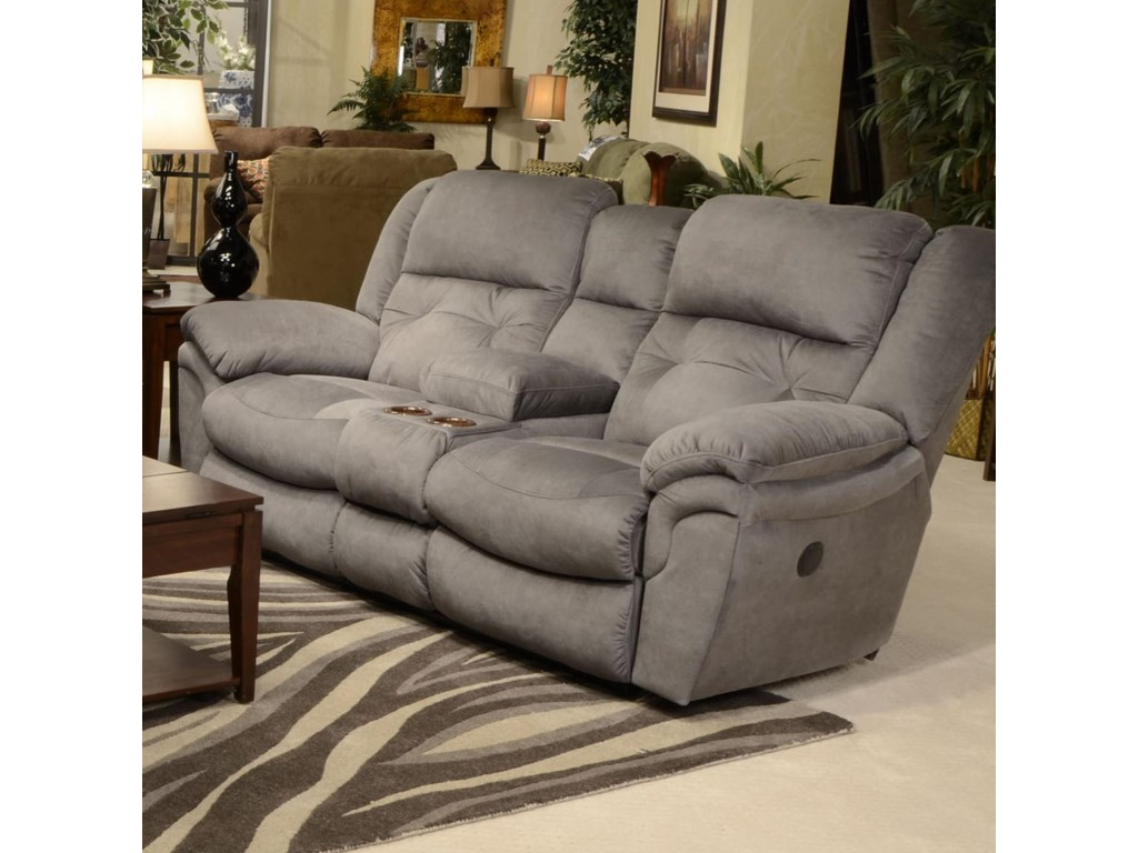 Loveseat shown may not represent exact features indicated.