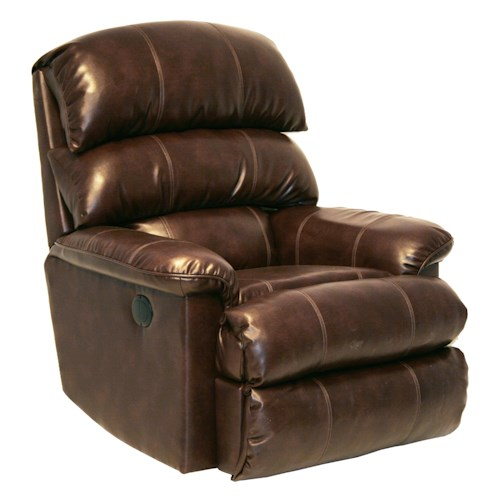 Catnapper Motion Chairs and Recliners Templeton Power Wall Hugger Recliner