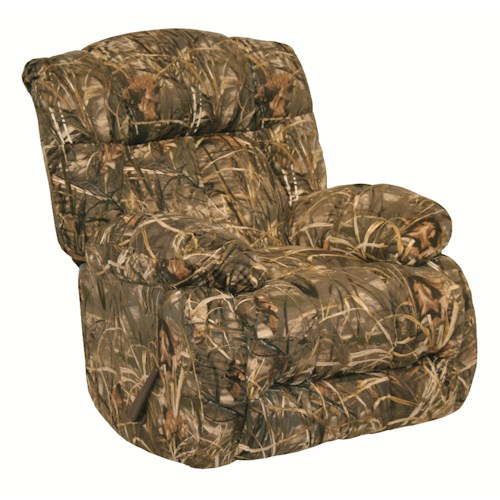Catnapper Motion Chairs and Recliners Laredo Duck Dynasty Rocking Recliner
