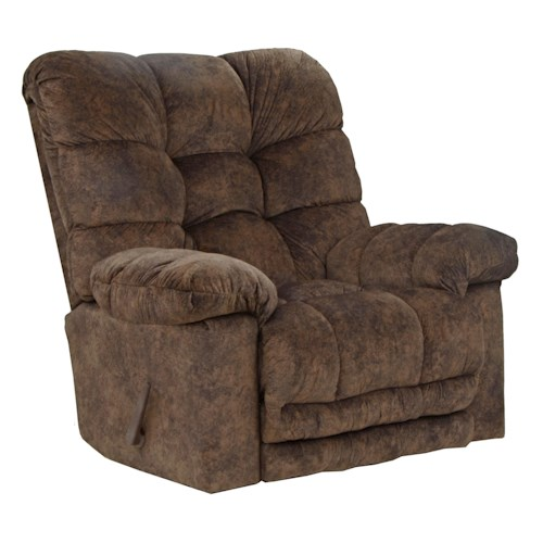 Catnapper Motion Chairs and Recliners Bronson Rocker Recliner with Extra Comfort