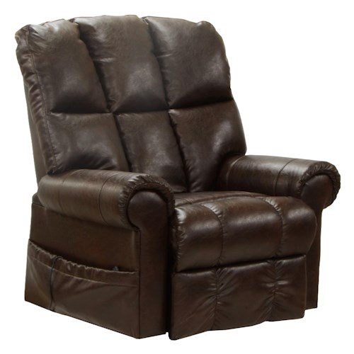 Catnapper Motion Chairs and Recliners Stallworth Power Lift Full Lay-Out Recliner