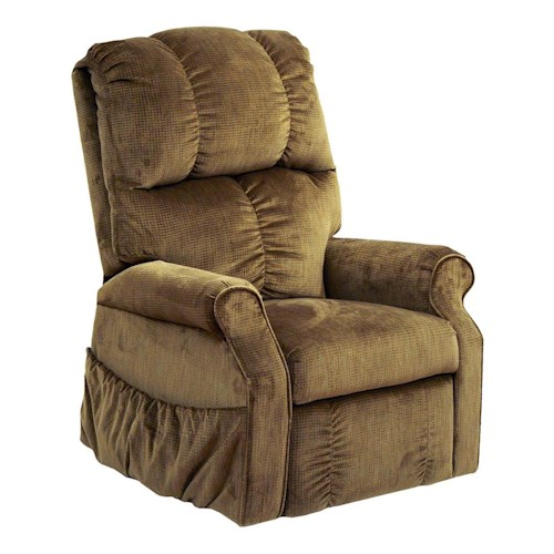 Catnapper Somerset Traditional Style Power Lift Lounger Recliner with Rolled Arms