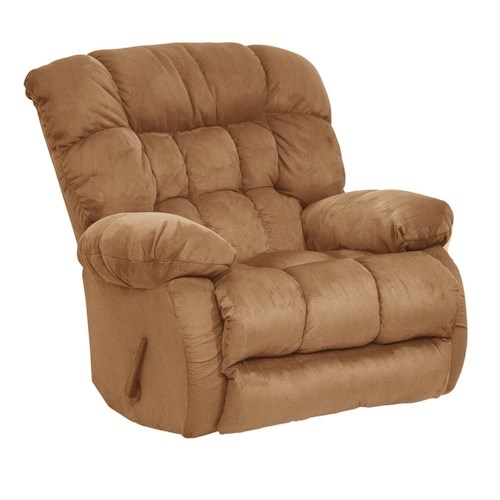 Catnapper Teddy Bear Chaise Rocker Recliner