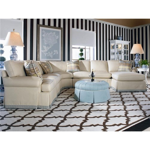 Century 2000 Eight Step Custom Customizable Modular Sectional Sofa