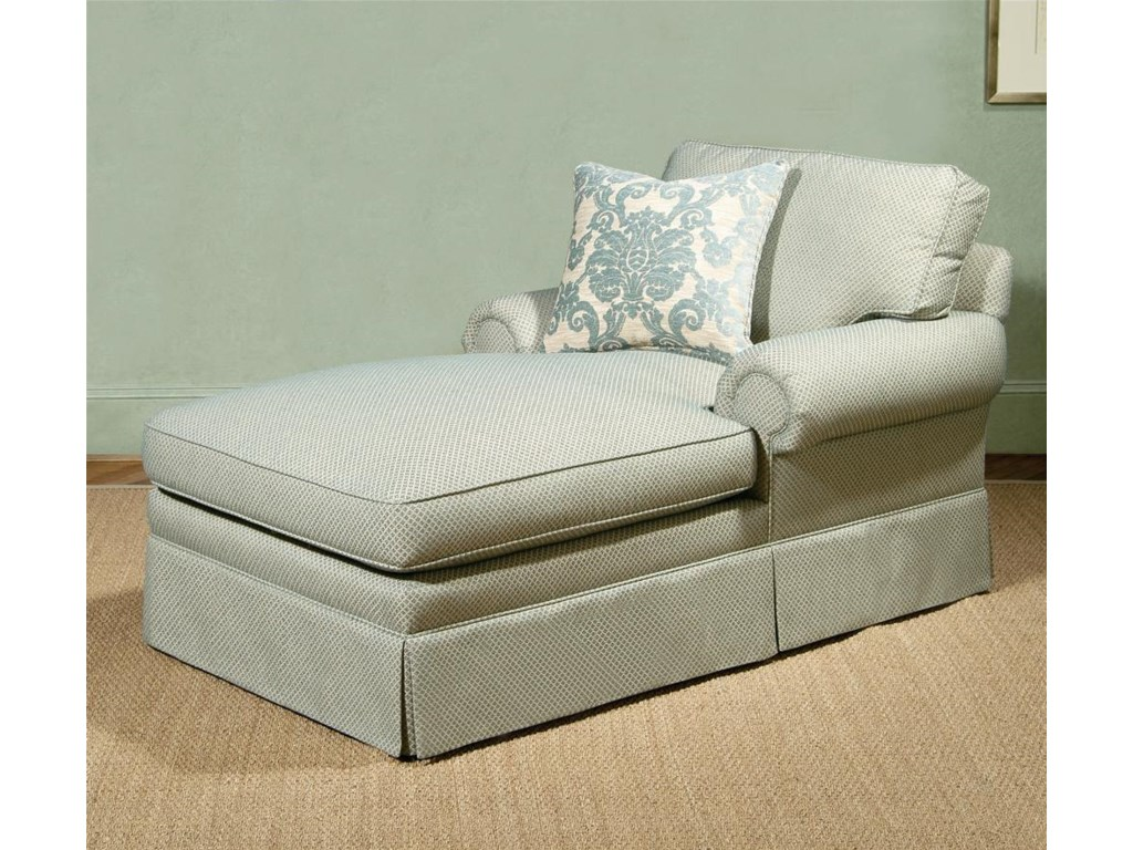 Shown in 68 Inches with T-Cushion Lawson Arms, Box Welt Cushions, and a Nine Inch Kickpleat Base