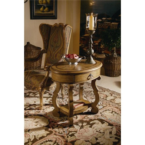 Century Caperana Lamp/End Table